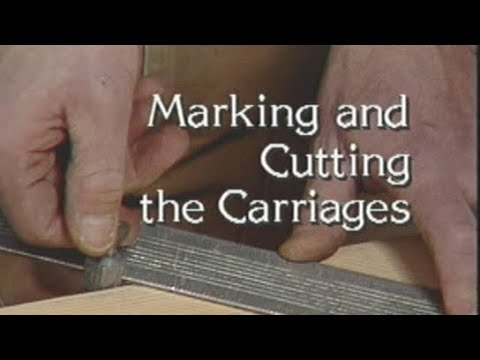 How to mark and cut stair stringers