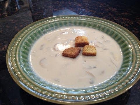 Gourmet Cream of Mushroom Soup Recipe