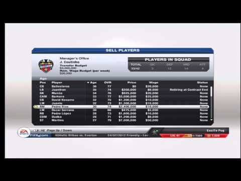 Fifa 13 Career Mode - Spanish Glory with Levante UD