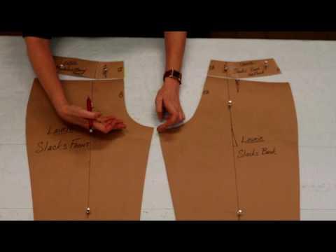 Pants Patterning Terminology