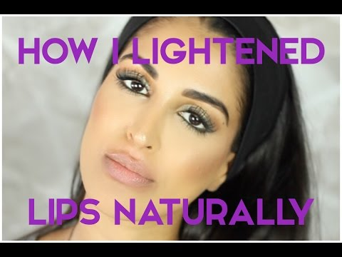 How to Lighten Dark Lips Naturally - MY EVERYDAY ROUTINE
