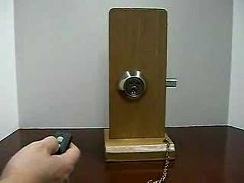 Remote Control Deadbolt Lock