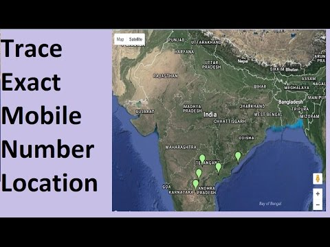 In India Simple  Method  ToTrace Mobile Number Current Location