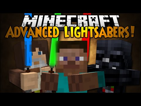 Minecraft Mod Showcase: ADVANCED LIGHTSABERS!