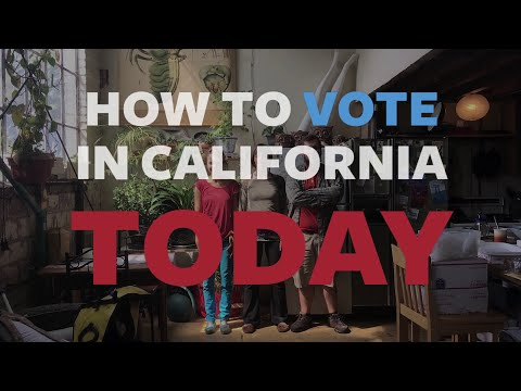 How to Vote EARLY in California TODAY, 50 seconds