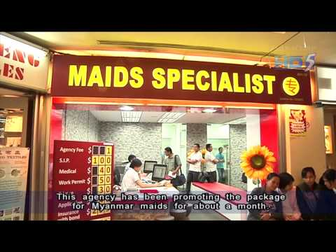 Price war among employment agencies at Katong Shopping Centre - 05Oct2013
