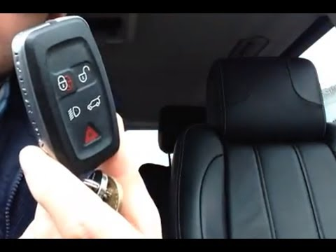 Range Rover Remote Key Battery Replacement in under a minute