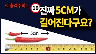 【길이연장】 진짜 5cm가 길어진다구요???