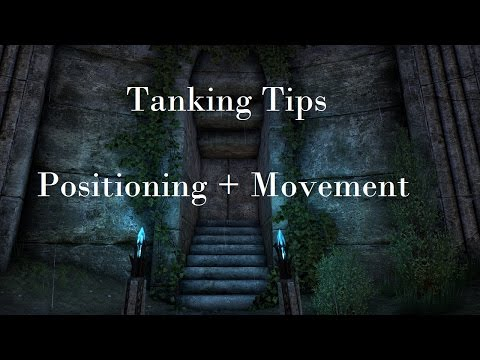 [ESO] Tanking Tips - Positioning + Movement
