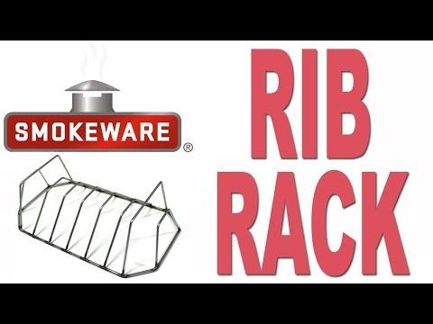 Smokeware's Rib Rack for the BIg Green Egg