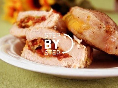 Pork Chops with Bacon, Bacon Stuffed Pork Chops, Bacon Pork Chops Recipe