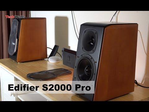 Edifier S2000 Pro Powered Bluetooth Bookshelf Speakers - Sound Test