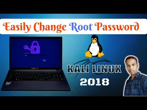 How To Change Root Password In Kali Linux 2018