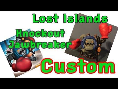 Custom Skylander Lost Islands Knockout Jawbreaker