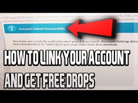 HOW TO LINK YOUR EA SPORTS ACCOUNT TO YOUR TWITCH ACCOUNT!! HOW TO GET FREE PACKS IN MUT 18!!!!