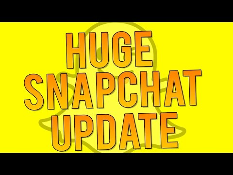 Snapchat Update 9.45.0 - Groups, Custom Stickers, New Filters and SHAZAM! (Snapchat Tips and Tricks)