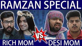 Ramzan Special - Rich Mom Vs Desi Mom || Unique MicroFilms || Comedy Skit || #UMF