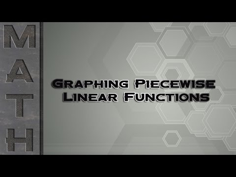 Graphing Piecewise Linear Functions