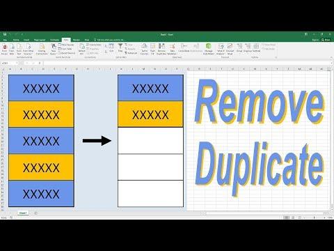 Excel magic trick 67 bangla - Remove Duplicates using Formula