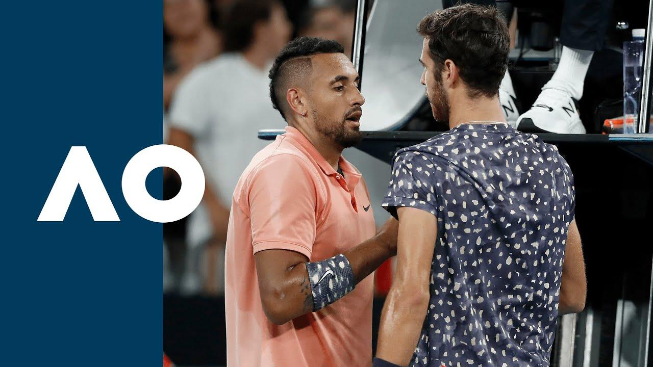 Nick Kyrgios vs Karen Khachanov - Extended Highlights (R3)   Australian Open 2020
