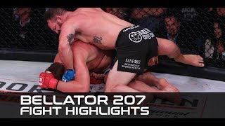 Bellator 207 Fight Highlights: Ryan Bader Punches Ticket to Heavyweight Final