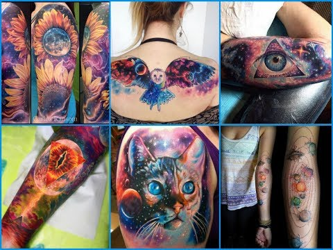 50+ Earth Shattering Space and Galaxy Tattoos Design Ideas