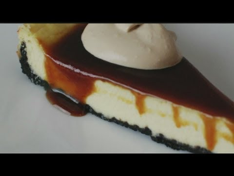 Mass Appeal Irish Cream cheesecake with Whiskey Caramel