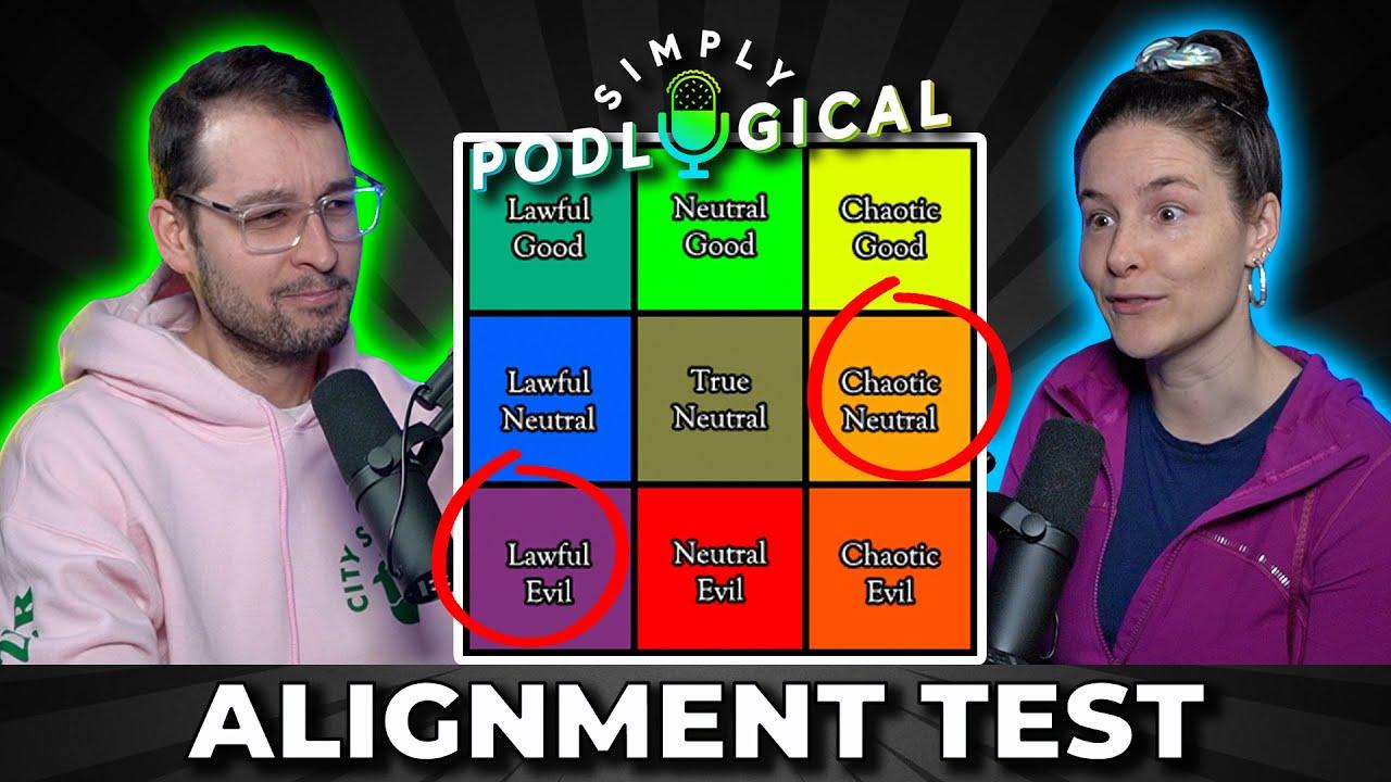 DND Moral Alignment Quiz - SimplyPodLogical #70