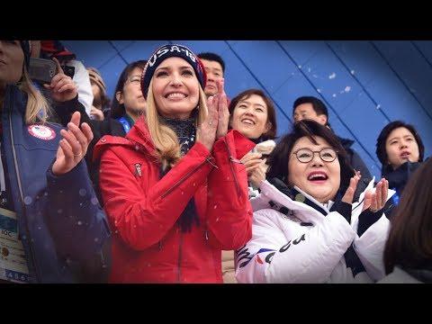 Os EUA celebram os Jogos Olímpicos de Inverno da República da Coreia em 2018