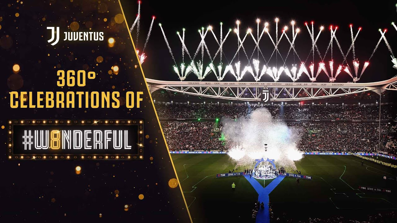 360° Trophy Lift   Our #W8NDERFUL celebrations from a unique angle!