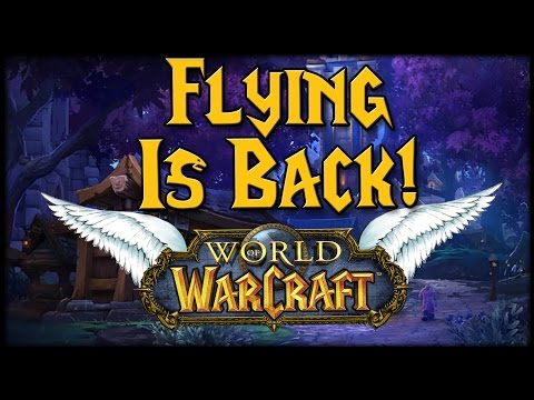 Flying Is Back!! How To Fly In Warlords!!