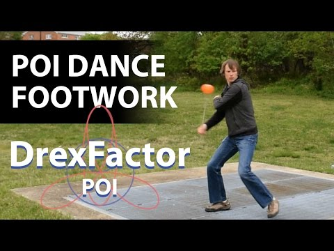 Footwork Tutorial: How to Dance with Poi