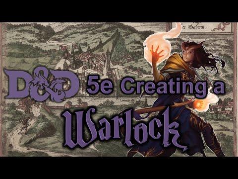 D&D 5e - Creating a Warlock