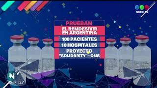 REMDESIVIR EN ARGENTINA: lo prueban en 100 pacientes - Telefe Noticias