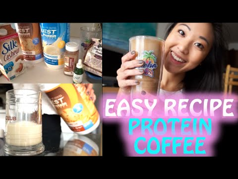 Easy Recipe: My Favorite Protein Coffee