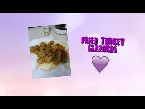 Fried Turkey Gizzard! | UniqueB12