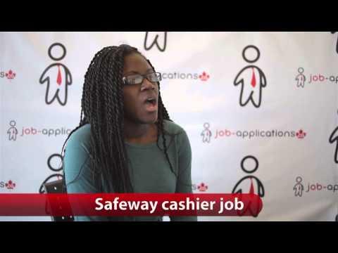 Safeway Cashier Job