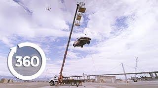 Vacuum Car Lift | MythBusters (360 Video)