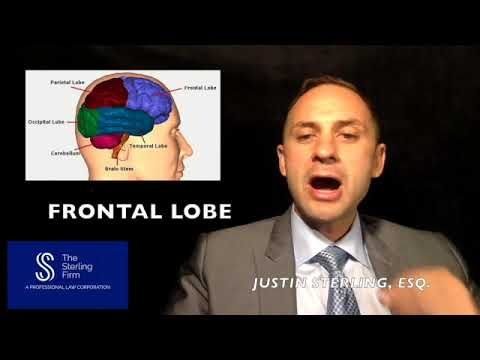 WHAT PARTS OF THE BRAIN ARE AFFECTED IN A TRAUMATIC BRAIN INJURY?