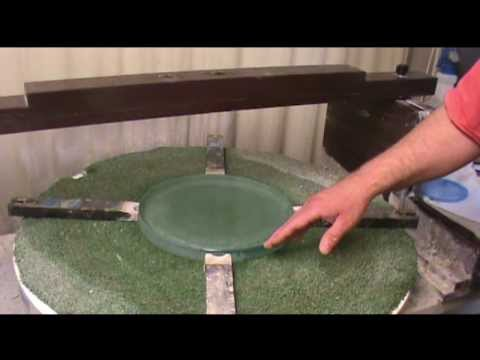 Using the Fixed-Post Grinding Machine for Rough Grinding an 11-inch Telescope Mirror