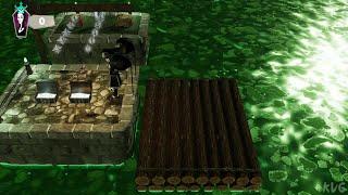 The Addams Family: Mansion Mayhem - Bayou Barge (Mini Games) - Gameplay (PC UHD) [4K60FPS]