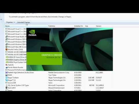 How to Update NVIDIA Graphics Drivers