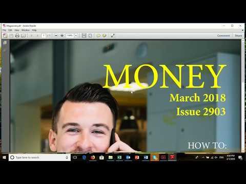Design a Magazine Cover in Indesign CC