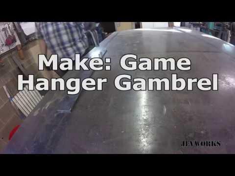 Make: A Game Hanger Gambrel