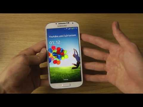 Samsung Galaxy S4 - How To Change