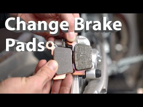 How to Change Brake Pads on your Dirt Bike