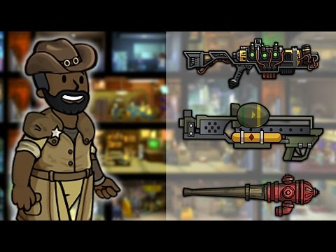 What's Fallout Shelter's Best Weapon?: Vault Log #1