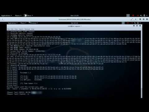 Hack wifi with reaver in kali linux 2016
