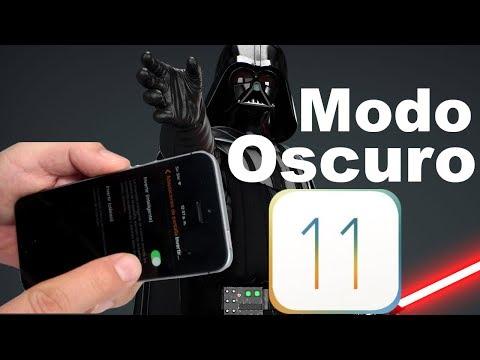 Cómo activar el Dark Mode en tu iPhone y iPad en iOS 11 Nuevas funciones Parte 7