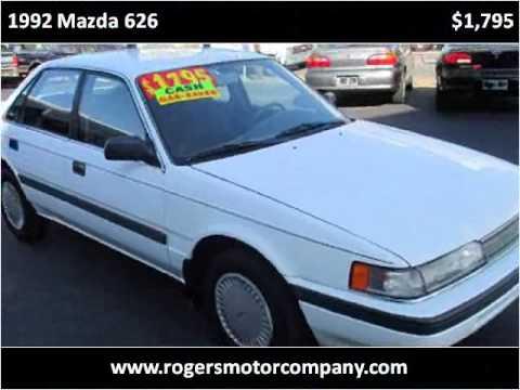 1992 Mazda 626 Used Cars Asheville NC